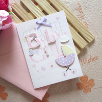 Upscale NEW BABY BIRTH Greeting Cards scrapbooking decorating etc Christmas Gifts