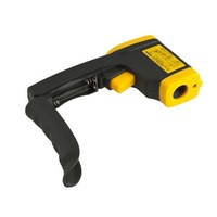 Hand-held Non-Contact IR Laser Infrared Digital Thermometer DT380 -50-380C GT Fedex DHL free fast shipment