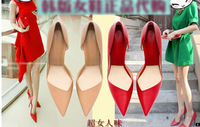 high heels red bottoms Pointed Toe Shoes Women Pumps Wedding Shoes High heels Red Buttom Shoes Women Pumps Party Shoes 35-40