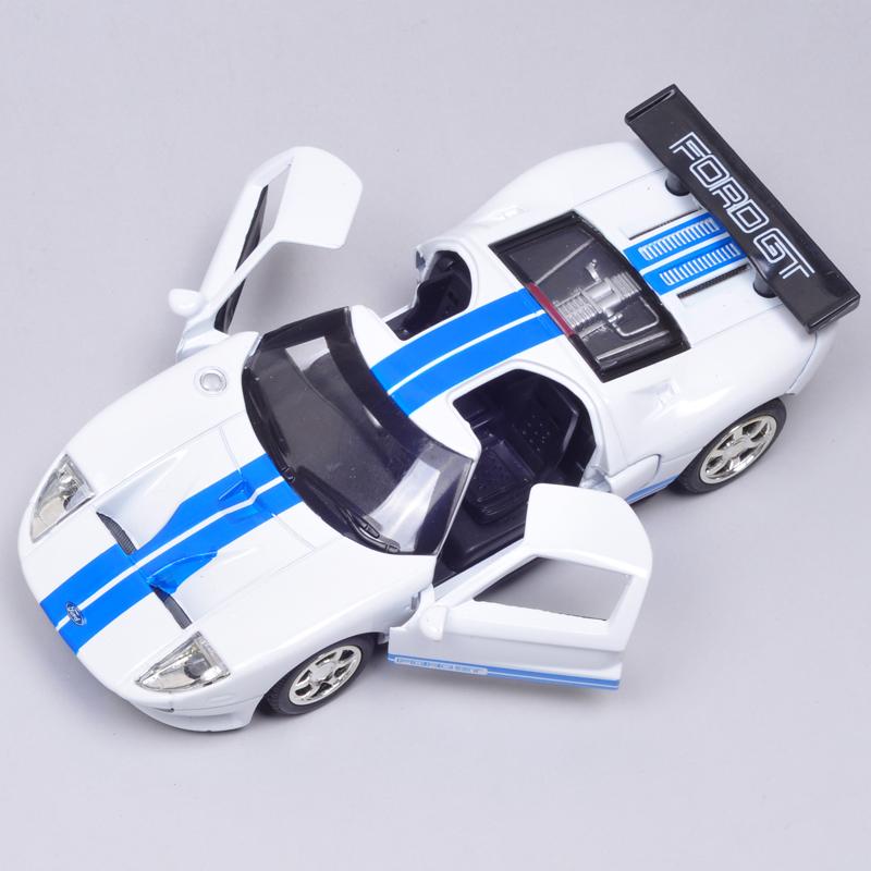 Ford sports car model FORD gt model car plain alloy WARRIOR car(China (Mainland))