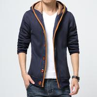 Free shipping famous brand plus size XXL 4xl 5xl 6xl casual-jacket winter coat men sportswear fleece hood sweatshirt thick coats