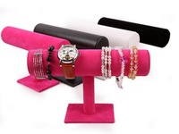Bracelet watches dedicated removable cloth velvet bracelet jewelry display Stand rack Holder Free Shipping