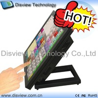 "ALL-In-One 15"" LCD with Resistive Touch pos terminal payment machine D525/2GB RAM/ 32GB SSD point of sales machine: P15-A54!"