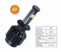 80W H7 CREE LED Headlight