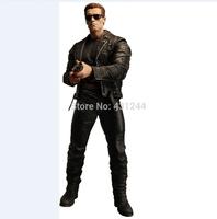 "Wholesale/Retail Fashion Free Shipping FS HOT NECA Terminator 2 S3 Series 3 T-800 Pescadero Escape 7"" Action Figure"