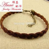 Free shipping 20pcs 17cm Korea cashmere knit Braided bracelet Annesl0016 Rope Chain