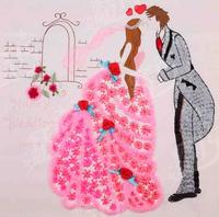 Sample of Wedding Invitation Card Printable & Customizable Wholesale Free Shipping