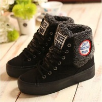2014 Winter thick sponge cake at the end of the Korean version of new warm boots casual shoes