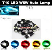 Wholesale T10 LED W5W Car LED Auto Lamp 12V Light Bulbs Clearance Lights Car Styling 500PCS/lot
