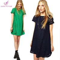 Vestidos Woman Dresses New Fashion 2014 Summer Party Lace Dress Women Fashion Casual Women's Clothing Plus Size Dropshipping