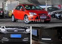 Car Daytime Running Lights LED DRL Daylight for Focus (Pack of 2)