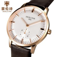 2014 new men watches top brand luxury HOLUNS christmas gift,men's wristwatches,dermis watch band,Stopwatch 4 colors