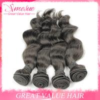 Brazillian Loose Wave Hair 5Pcs Lot Mocha Hair Products 30inch Cheap Hair Weave Bundles Ms Lula Brazillian Loose Wave