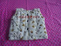 Baby handmade cotton vest. The baby vest hickened,  Pure handmade cotton. Keep warm