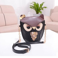 PopularCute Owl Print Satchel Messenger Shoulder Bag Handbag Cross Body PurseTonsee