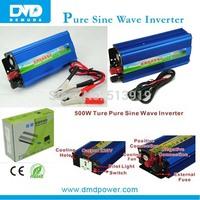 solar pv inverter 500 watts 12v dc to ac 240v pure sine wave