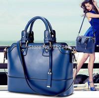 Cowhide Genuine leather Handbag New Fashion women's Shoulder Bag Messenger Bag Vintage portable single Commuter Bag