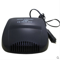 Car Auto Vehicle Portable Ceramic Car Heater 12V 200W car defogging heater defrost Heating Cooling Fan Black in Russia