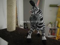 26cm Madagascar 3 Zebra Stuffed Animals Toys Plush Doll ,retails,small wedding toy,child gift