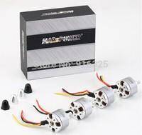 2014 New 4set/lot MARSPOWER Ares MX2212 KV920 multi-axis motor brushless motor for DJI PHANTOM Forward / Reverse+ Free shipping