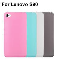 Soft Transparent TPU Phone Case Cover For Lenovo S90 Case
