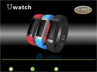 New Bluetooth Smart Wrist Watch Bracelet Waterproof Support WiFi Hotspots U9 for Phone
