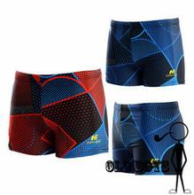 2015 New Arrival comfort blue red mens swim briefs Sexy men swimming trunks XL-3XL swimwear Men's Swim Shorts HNSD5919 (China (Mainland))