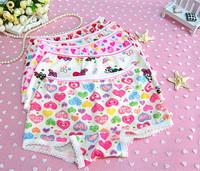 Hot Sale High Quality Attractive Kids Underwear Panties For Girls Baby Girl's Cotton Underwear Briefs