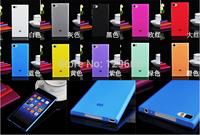 xiaomi mi3 case 0.3mm Ultra Thin frosted xiaomi 3 case Slim Matte Transparent High Qlity Case For XiaoMi 3 Mi3 M3 hot sale