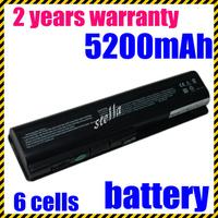 Laptop Battery for HP DV4 DV5 DV6 CQ60 CQ70 G50 G60 G60T G61 G70 G71 Series, P/N 484170-001 EV06 KS524AA KS526AA HSTNN-IB72 ev06