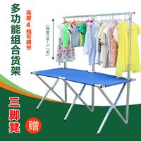 Simple multi- province shipping street vendor combination folding table cloth table combo portable night market stall table