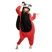 Ladybug / Ladybird Animal Cosplay Costume Men Women Adult Onesie Pajamas Soft Fleece Pyjamas Jumpsuit Romper Sleepwear