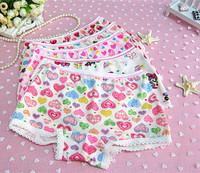 High Quality  Kids Underwear Panties For Girls Baby Girl's Cotton Underwear Briefs