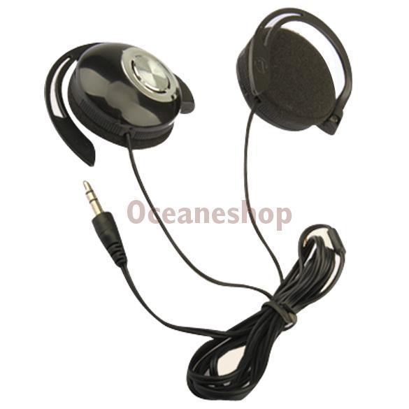 Sport Earphone Clip On Sports Stereo Headphones Ear Hook Earphone For MP3 MP4 Player #1JT(China (Mainland))