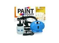 Free Shipping Electrical Spray Gun HVLP Paint Zoom Trigger Airbrush New 2014 Air Brush