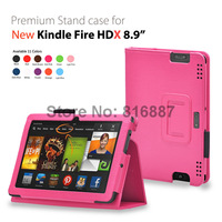 For New kindle fire HDX 8.9 case cover for Amazon Kindle fire HDX 8.9 200pcs/lot free shipping