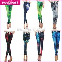Factory Promotion 2015 Women Pant Fashion High Waist Trousers Women's Fashion Leggings Stretch Skinny Leg Pant Snow Pants 5