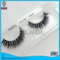 UPS Free Shipping 50 Pairs Thick False Eyelashes Mink Eyelash Lashes Voluminous Makeup AFM008