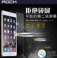 For Apple iPad Mini3 Rock 2.5D 0.3mm 9H Ultra-thin Professional Tempered Glass Screen Protective Film For iPad Mini 3 Free Ship