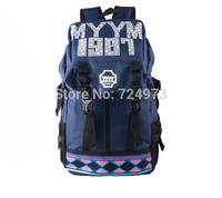 Alphabet pattern hot sale Japan style women men unisex tactical backpack bags,wholesale school bags for teenagers bags