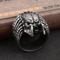 Gothic Jewelry Steampunk Metal Jewellry Men Women Goth Pewter Alloy Classic anel Alien vs Predator Rings