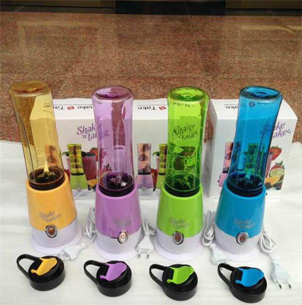 Shake N Take 4 juice Machine Mini electronic Juicer(China (Mainland))