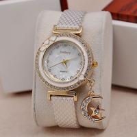 New Arrivals New women vintage leather strap watches,Chain rivet bracelet women dress watch,women wristwatchfree shipping
