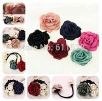 4.5cm retail wedding rose flower for craft embellishment,wedding flower retail hair accessories marterial(MOQ:20/lot