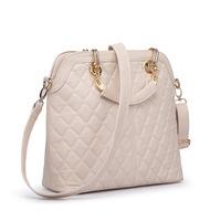 Fall 2014 square plaid new female European fashion Messenger Bag Shell bag PU Faux Leather Cross body bags