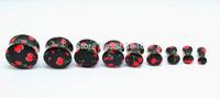 2pcs  Free Shippment U Choose 9 sizes  4-18mm Hot   Ear Plugs Tunnels Sets Earlets