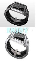 2014 new Hot Real Aluminum ( not silicone ) Multi-Touch Wrist Strap Watch Band for iPod Nano 6 6th Generation