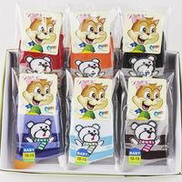 12 pairs/box New Arrival Lovely Cartoon Children's Cotton Socks Kids Socks 3 Sizes Free Shipping