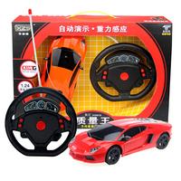 Brand New Red Mini Children Boy's Student's Gravity Sensor Car Model Remote Control Light Car Model Toy, Free & Drop Shipping