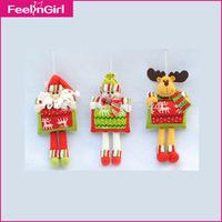 24 Pieces/lot Christmas Ornaments,Christmas Tree Hanging Accessories,Christmas Decorations Reindeer,Chrismas Snowman